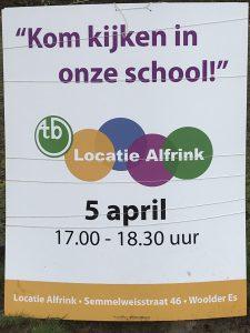 Alfrinkschool Open Dag @ OGTB locatie Alfrink